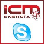 ICM energía en skype
